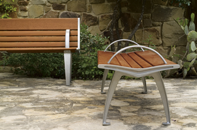 Austin Bench - Site Furniture - Landscape Forms
