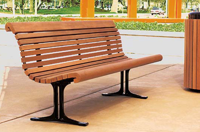 Gretchen Bench - Site Furniture - Landscape Forms