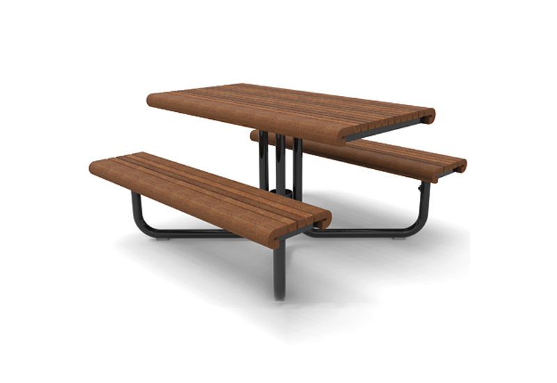 Gretchen Picnic Table - Concrete picnic table forms