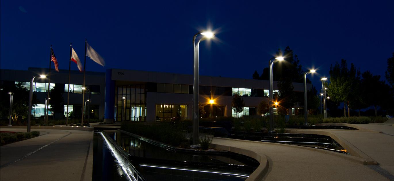 Hi Glo Area Light Outdoor Lighting