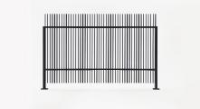 Panel L I N E Landscape - Varilla vertical de media pulgada
