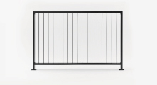 L I N E Landscape Panel - Vertical Louver - Straight