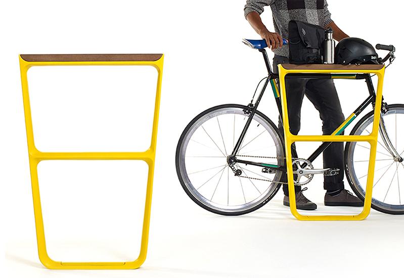 Multiplicity Bike Rack Outdoor Bike Rack