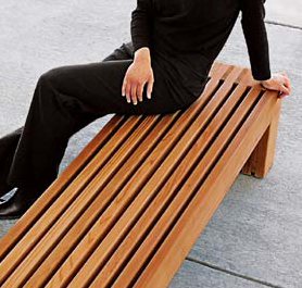 Palisade Bench - Site Furniture - Landscape Forms