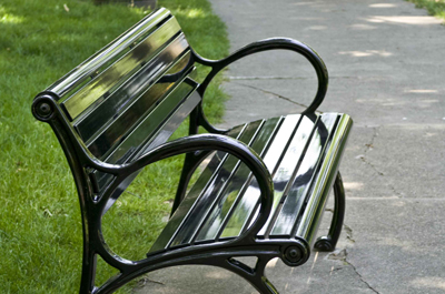 Plainwell Bench - Site Furniture - Landscape Forms