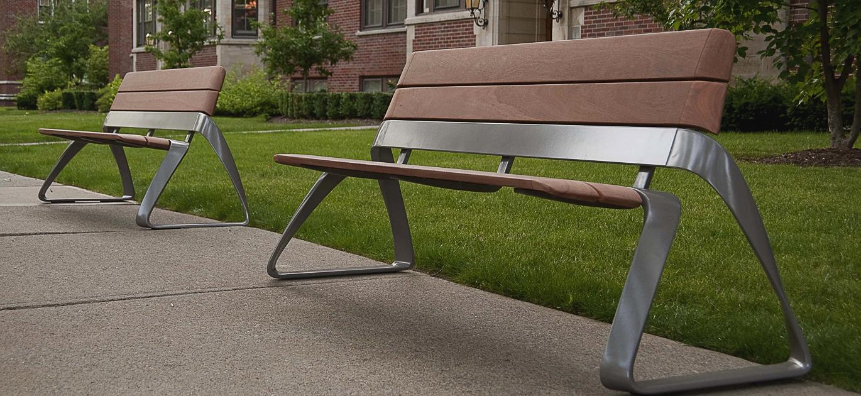 bench landscape