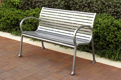 Scarborough Bench - Site Furniture - Landscape Forms