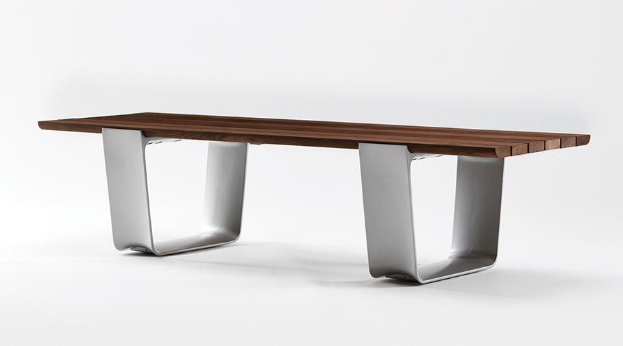 MultipliCITY Bench with Domestically Sourced, Thermally Modified Ash