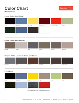 Download Finishes and Material Chart