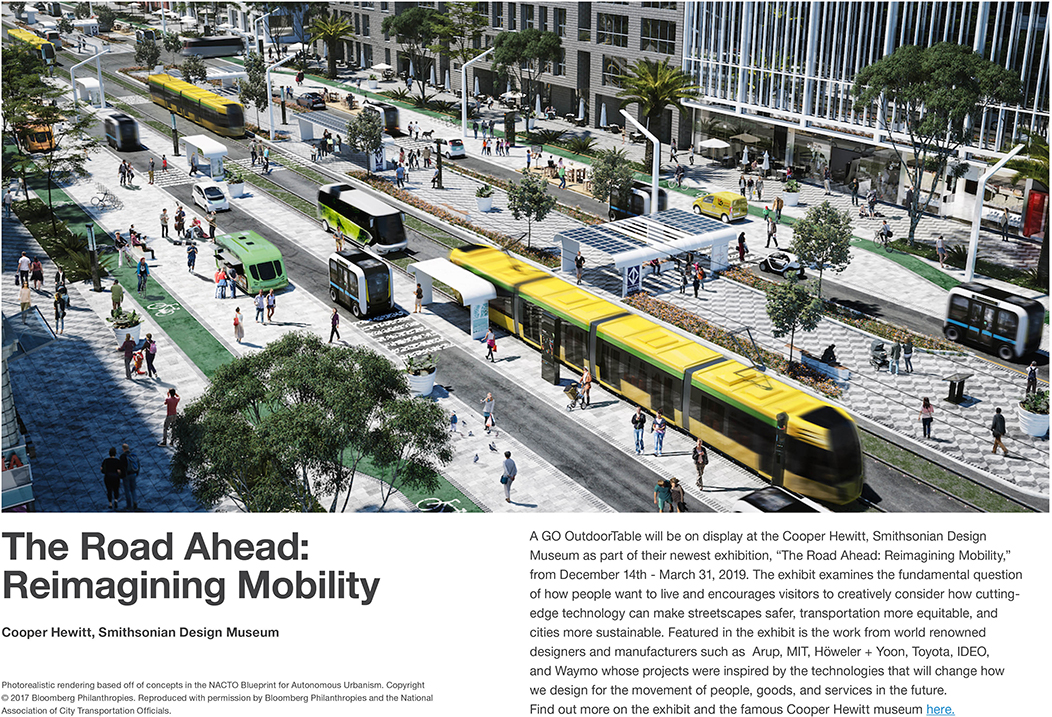The Road Ahead: Reimagining Mobility
