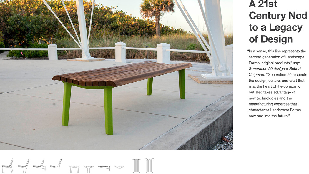 Landscape Forms – Outdoor Site Furnishings and Lighting for