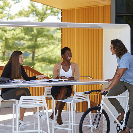 GO OutdoorTable - Outdoor communal table