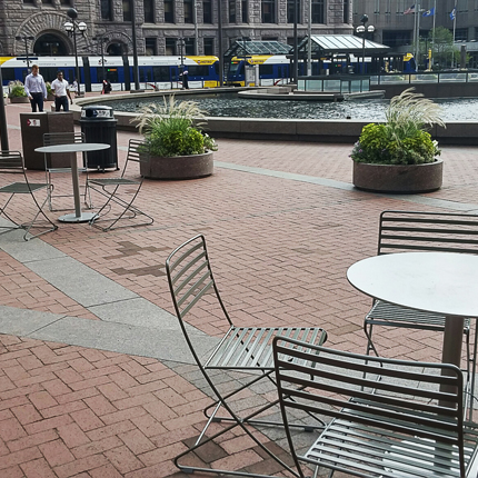 Parc Centre Chair Outdoor Chair