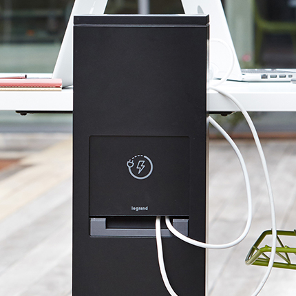 Power Pedestal Outdoor Charging Station