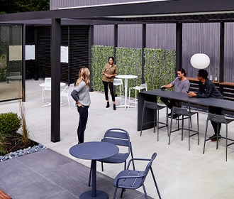 Upfit Adaptive Outdoor Structure