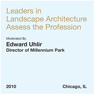 Leadership in Landscape Architecture Assess the Profession