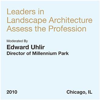 Líderes en arquitectura paisajista evalúan la profesión