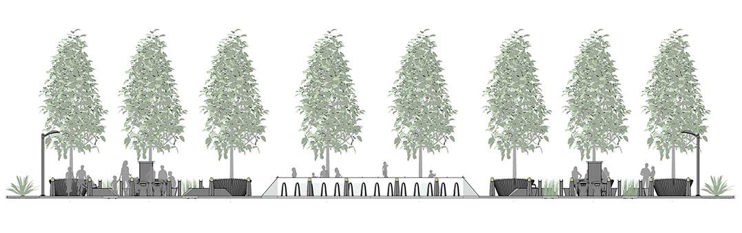 Diseño1 de aplicación de plaza central