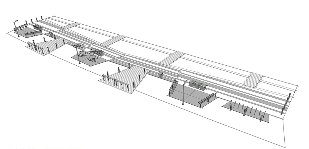 Application Linear Park Design 2