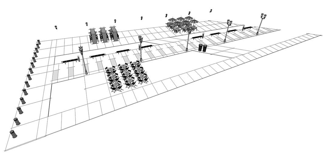 Diseño2 de configuración de aplicación de calle principal