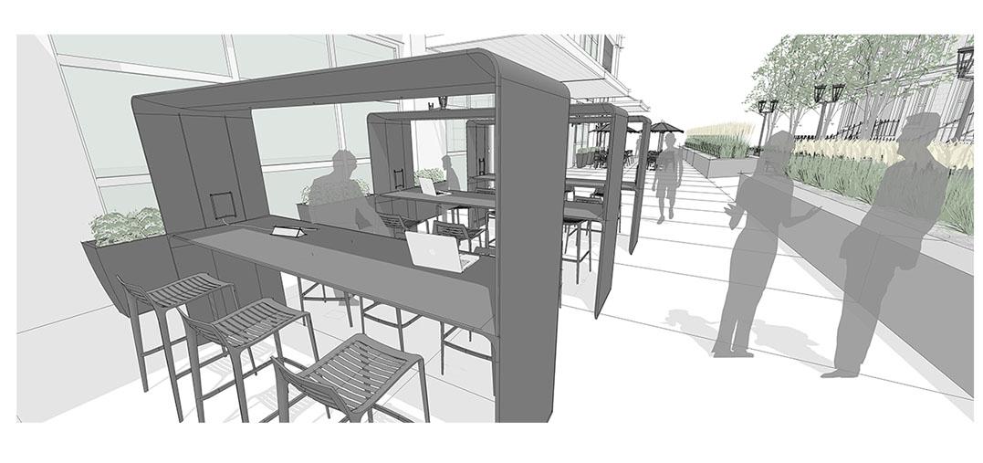 Diseño3 de configuración de aplicación de calle principal