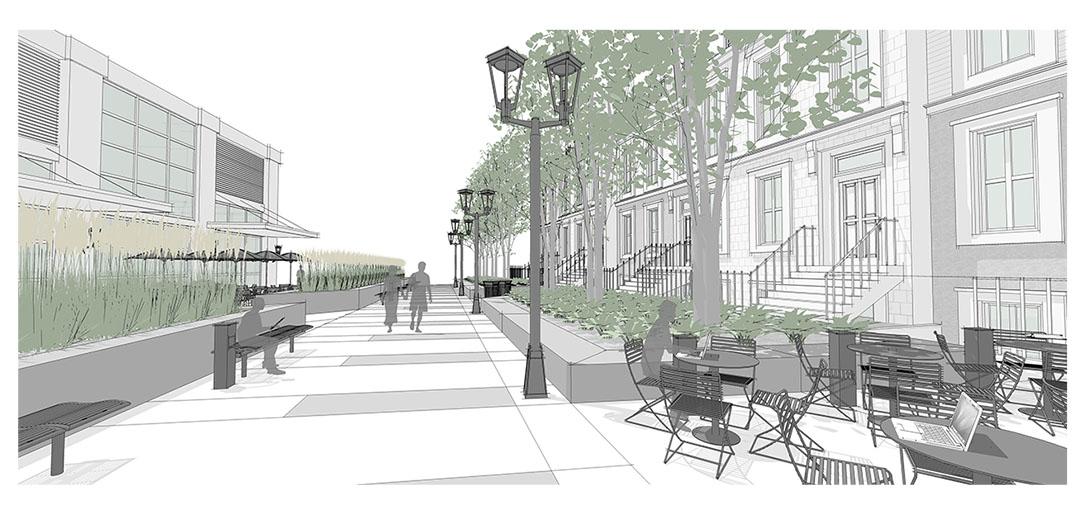 Diseño4 de configuración de aplicación de calle principal