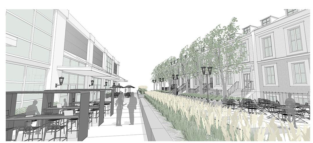 Diseño5 de configuración de aplicación de calle principal