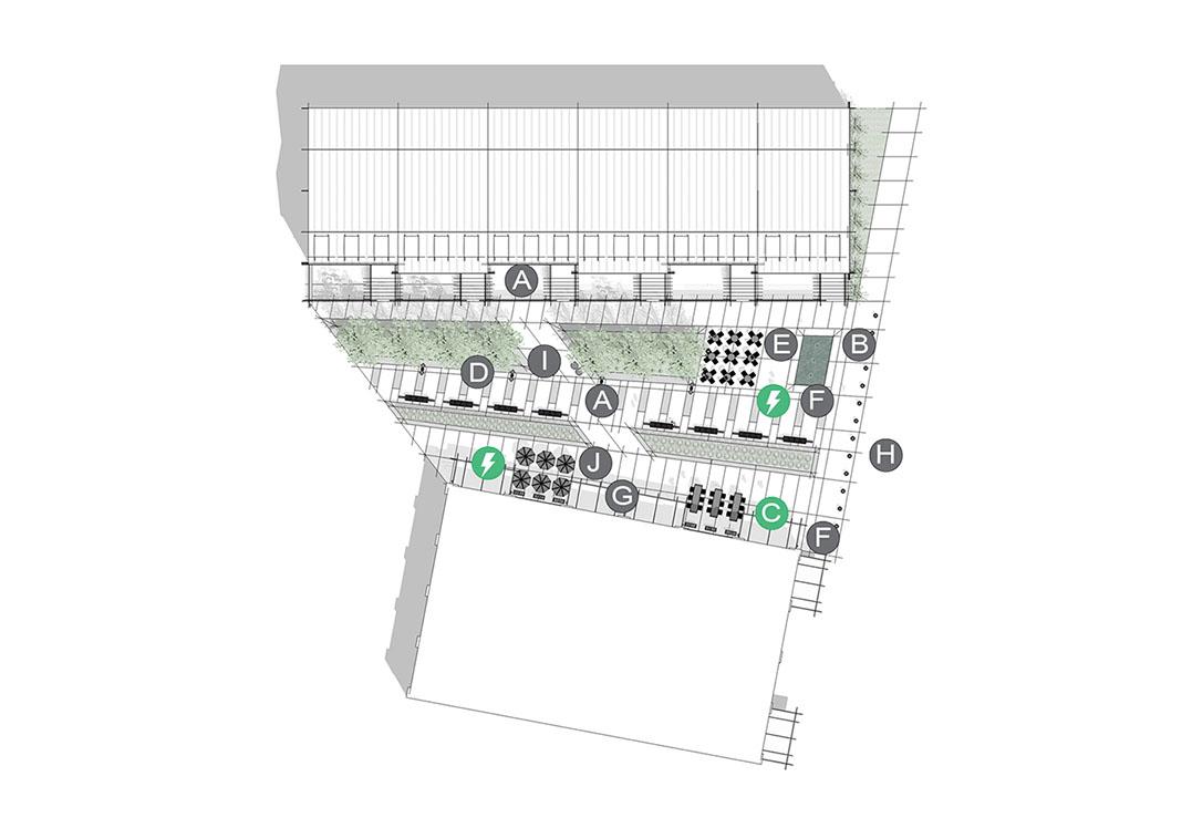 Configuración de aplicación de calle principal