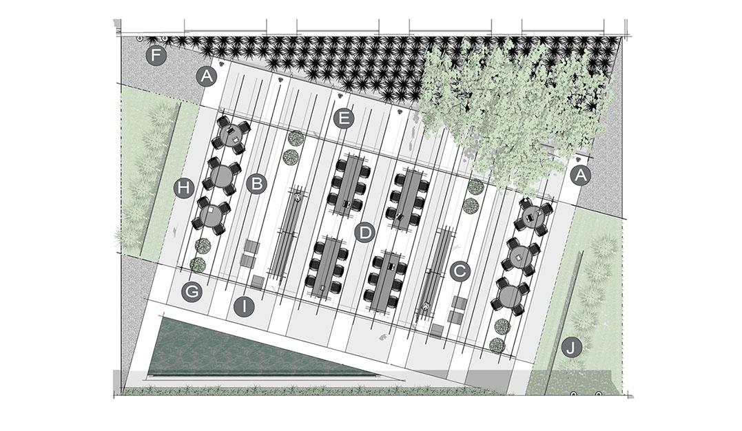 Diseño de aplicación de parque de bolsillo