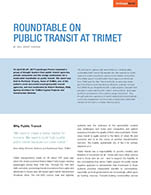 Table ronde Travel TriMet