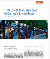 16th Street Mall : bienvenue dans le salon de Denver