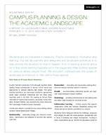 Campus Planning White Paper