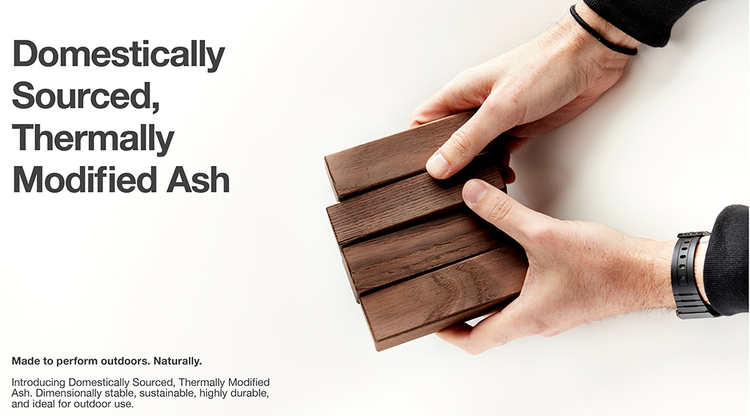 Thermally Modified Ash