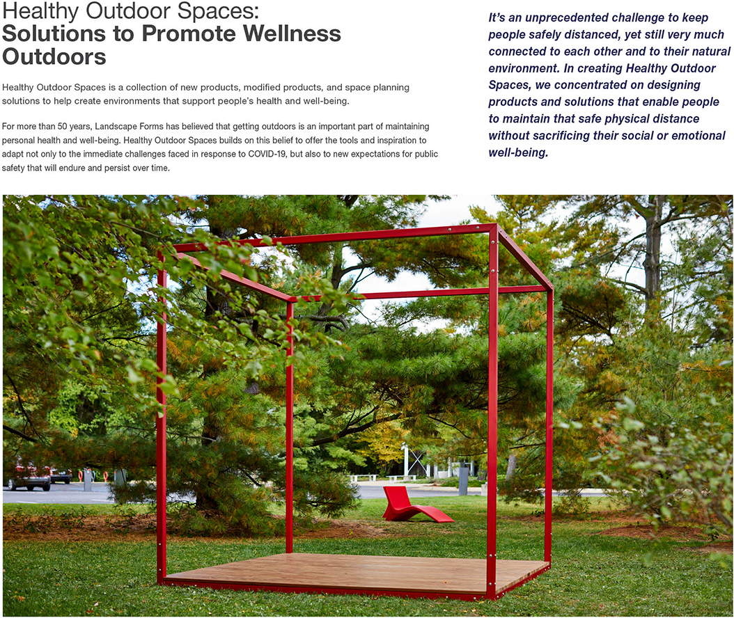 Healthy Outdoor Spaces: Solutions to Promote Wellness Outdoors