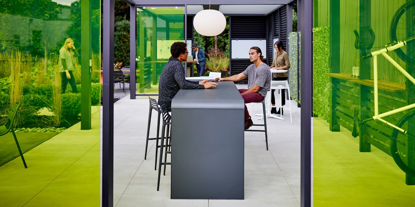 Landscape Forms Outdoor Site Furnishings And Lighting