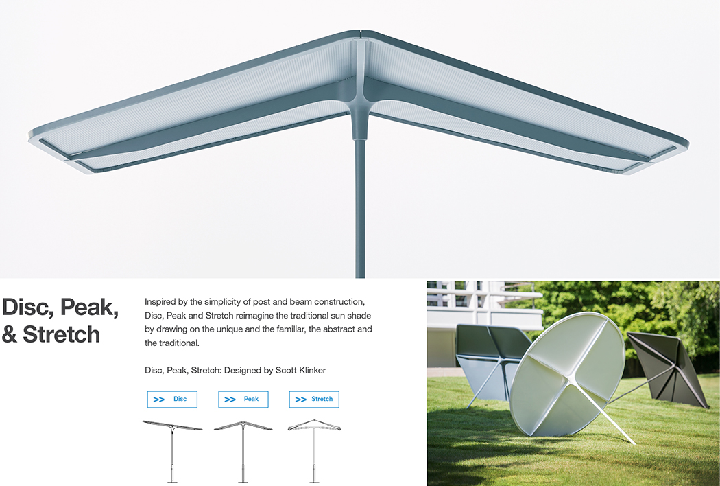 Disc, Peak, Stretch - Outdoor Sun Shades